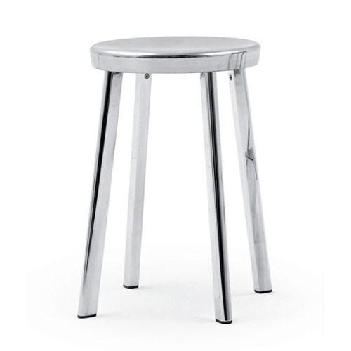 tabouret bas deja vu aluminium poli de magis. Black Bedroom Furniture Sets. Home Design Ideas