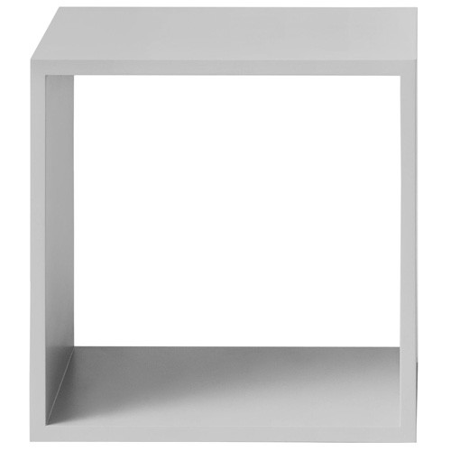 stacked module etagere medium sans fond gris clair de muuto. Black Bedroom Furniture Sets. Home Design Ideas