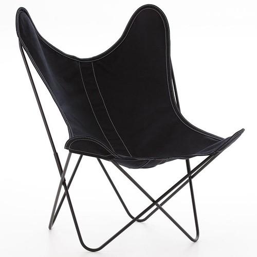 fauteuil aa noir de airborne. Black Bedroom Furniture Sets. Home Design Ideas