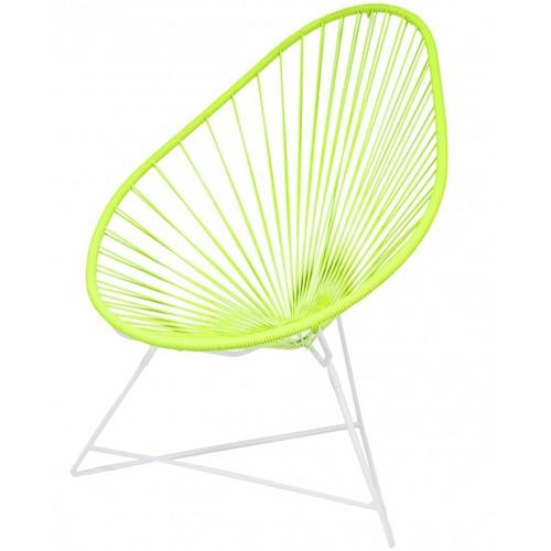 fauteuil acapulco vert anis de boqa. Black Bedroom Furniture Sets. Home Design Ideas