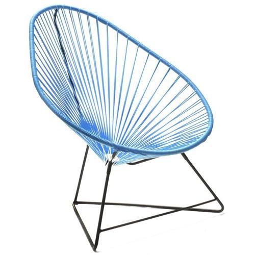 fauteuil acapulco bleu ciel de boqa. Black Bedroom Furniture Sets. Home Design Ideas