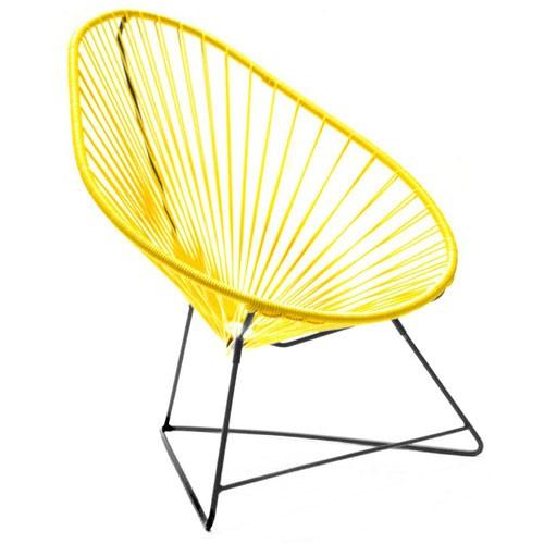 fauteuil acapulco jaune de boqa. Black Bedroom Furniture Sets. Home Design Ideas