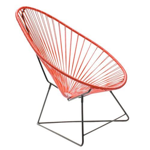fauteuil acapulco rouge de boqa
