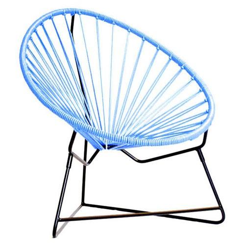 fauteuil enfant chiquita bleu ciel de boqa. Black Bedroom Furniture Sets. Home Design Ideas