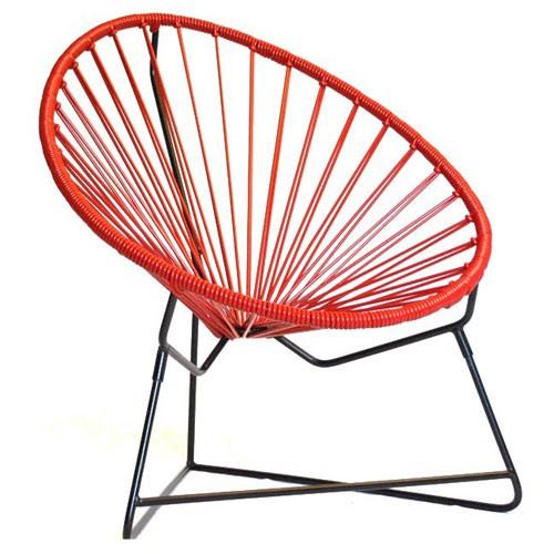 fauteuil enfant chiquita rouge de boqa. Black Bedroom Furniture Sets. Home Design Ideas