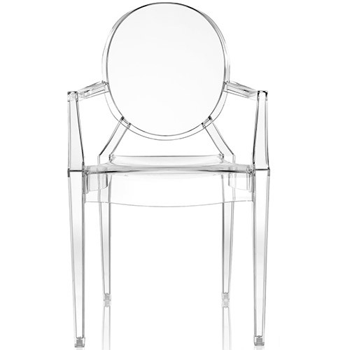 fauteuil louis ghost transparent de kartell. Black Bedroom Furniture Sets. Home Design Ideas