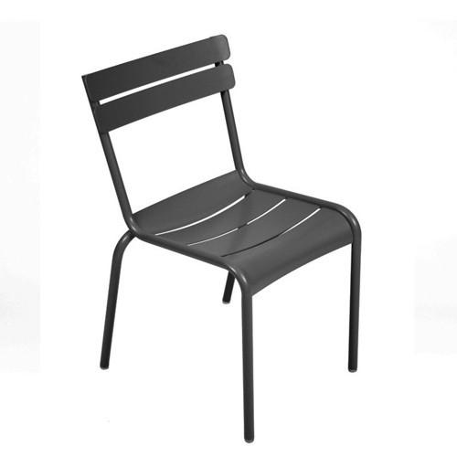chaise luxembourg carbone de fermob. Black Bedroom Furniture Sets. Home Design Ideas