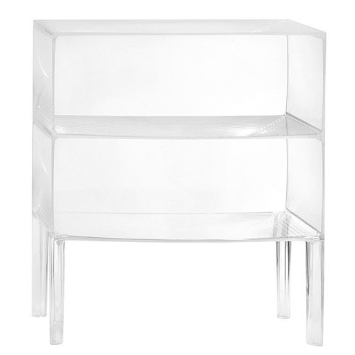 COMMODE GHOST BUSTER CRISTAL de KARTELL