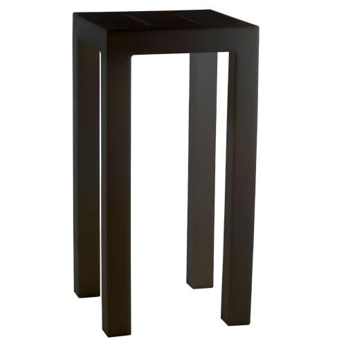 jut mesa 50 mange debout noir de vondom. Black Bedroom Furniture Sets. Home Design Ideas