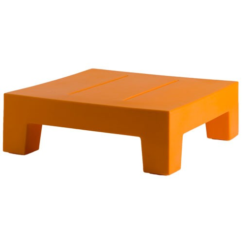 Jut mesa 60 table basse orange de vondom for Table basse orange