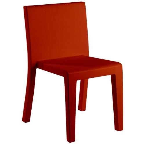 Jut Silla Vondom Chaise Design Rouge