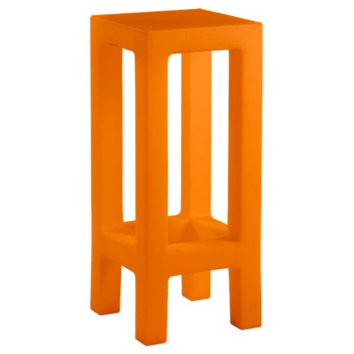 jut taburete tabouret haut orange de vondom. Black Bedroom Furniture Sets. Home Design Ideas