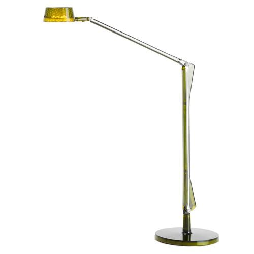 lampe a poser aledin dec vert de kartell. Black Bedroom Furniture Sets. Home Design Ideas