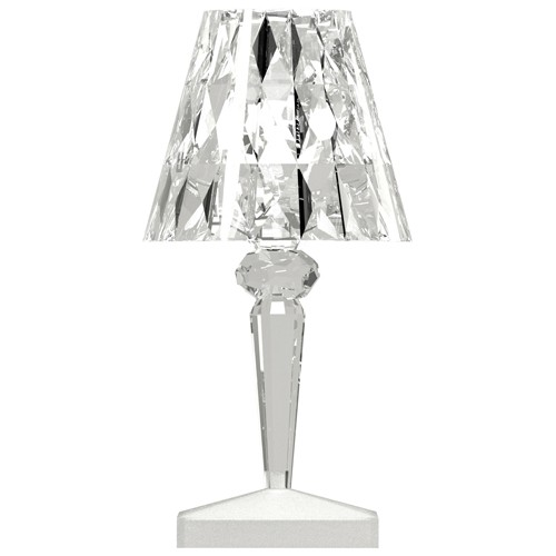 LAMPE A POSER BATTERY RECHARGEABLE CRISTAL de KARTELL