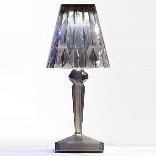 lampe a poser battery fum de kartell. Black Bedroom Furniture Sets. Home Design Ideas
