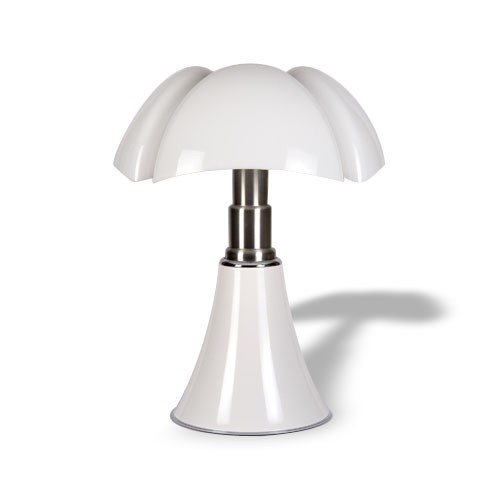 mini pipistrello d lampe a poser led on off sensitif blanc de martinelli luce. Black Bedroom Furniture Sets. Home Design Ideas