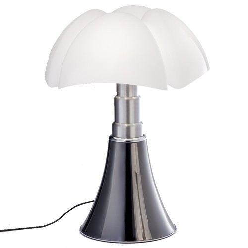 pipistrello led lampe a poser titane led de martinelli luce. Black Bedroom Furniture Sets. Home Design Ideas