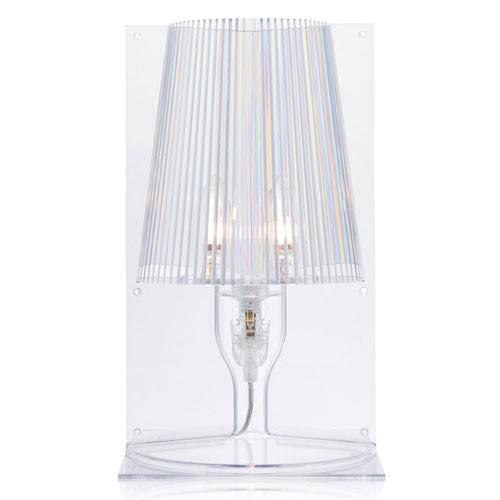 lampe a poser take transparent de kartell. Black Bedroom Furniture Sets. Home Design Ideas
