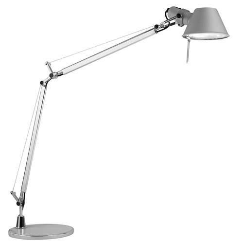 lampe a poser tolomeo halog ne aluminium de artemide. Black Bedroom Furniture Sets. Home Design Ideas