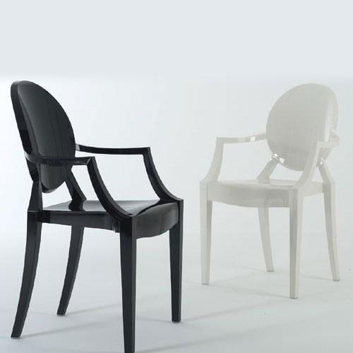 Louis Ghost Design Kartell Blanc Opaque
