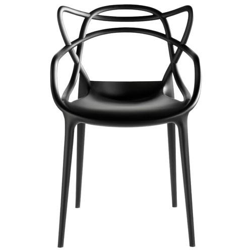 Masters Chaise Design Kartell Noir