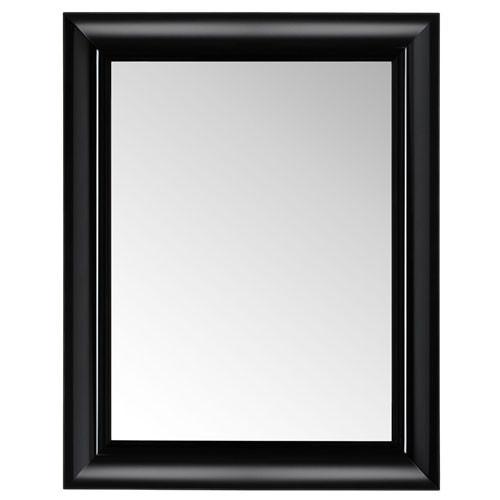 Miroir francois ghost noir opaque de kartell for Miroir kartell ghost