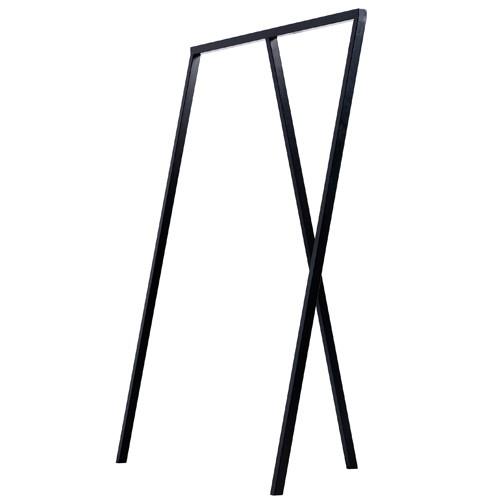 Portant loop stand wardrobe noir de hay for Portant noir