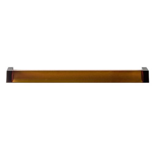 Porte serviette rail mural 60 cm ambre de kartell for Porte serviette mural 60 cm
