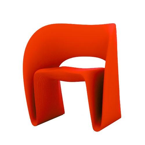 RAVIOLO FAUTEUIL ROUGE De MAGIS - Fauteuil rouge design