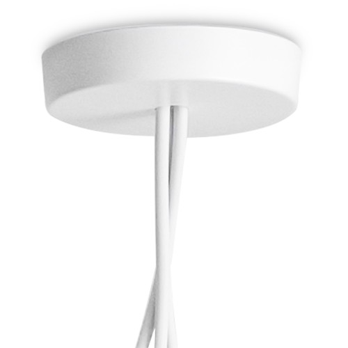 Suspension rosace multiple led aim blanc jusqu 39 5 for Suspension multiple cuisine