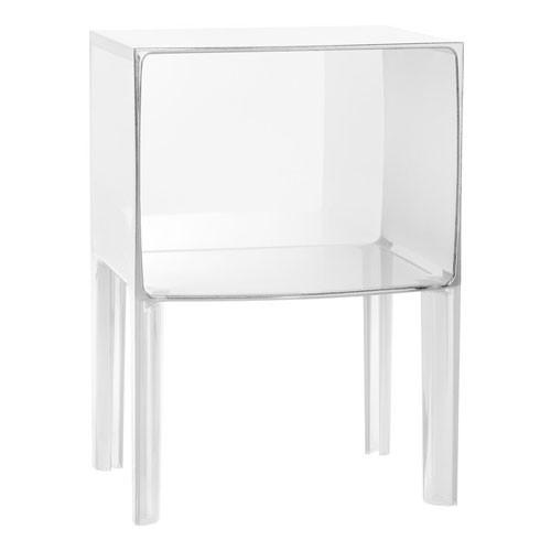Chevet small ghost buster transparent cristal de kartell - Table de chevet kartell ...