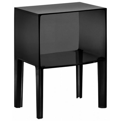 chevet small ghost buster opaque noir de kartell. Black Bedroom Furniture Sets. Home Design Ideas