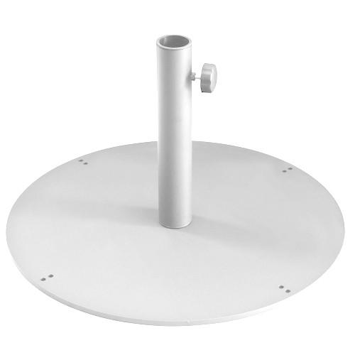 socle pour parasol shade rond 62 cm x h 1 cm blanc de emu. Black Bedroom Furniture Sets. Home Design Ideas