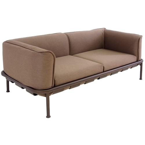 sofa 2 places dock marron d 39 inde marron de emu. Black Bedroom Furniture Sets. Home Design Ideas