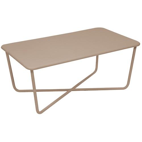 croisette table basse muscade de fermob. Black Bedroom Furniture Sets. Home Design Ideas