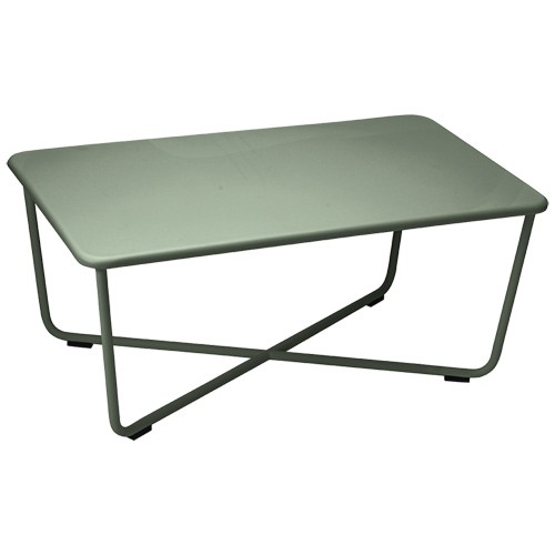 Croisette table basse cactus de fermob for Table basse fermob