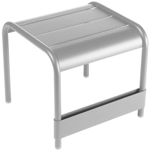 table basse luxembourg gris metal de fermob. Black Bedroom Furniture Sets. Home Design Ideas