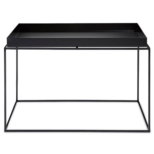 table basse tray 60 x 60 cm noir de hay. Black Bedroom Furniture Sets. Home Design Ideas