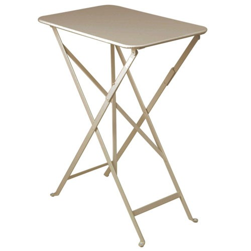 Table pliante bistro 37 x 57cm muscade de fermob for Table extensible fermob