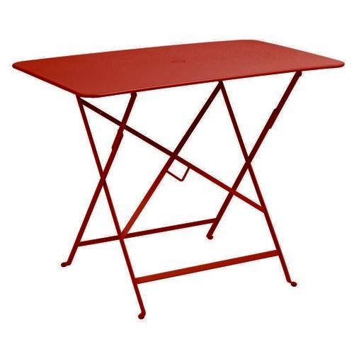 table pliante bistro 97 x 57cm piment de fermob. Black Bedroom Furniture Sets. Home Design Ideas