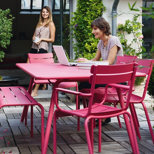 table luxembourg 165 fermob reglisse