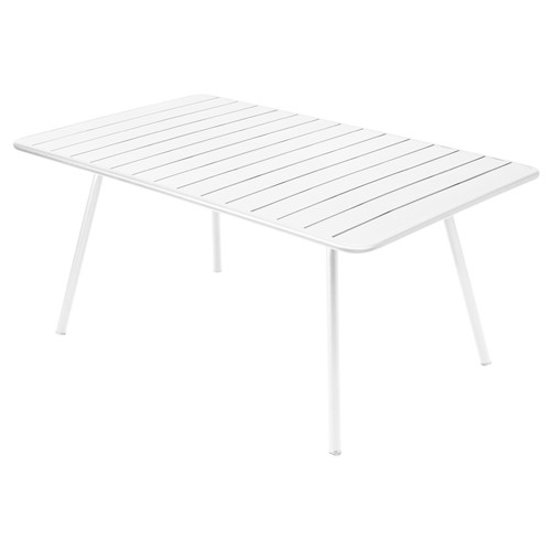 table luxembourg 165 fermob blanc