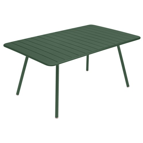Table luxembourg 165x100cm c dre de fermob for Table luxembourg fermob