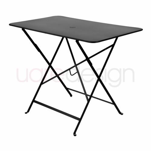 Table Pliante Bistro 97 X 57Cm Reglisse De Fermob