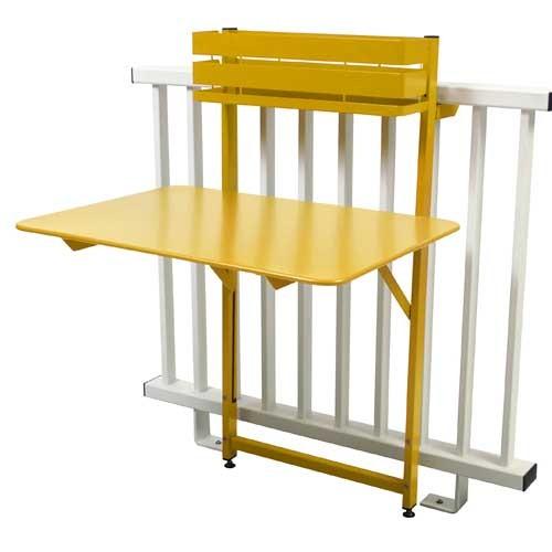 table pliante bistro balcon miel de fermob. Black Bedroom Furniture Sets. Home Design Ideas
