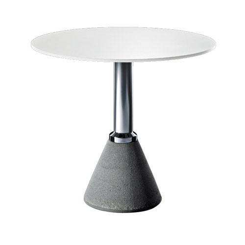 table one bistrot avec plateau rond 2 couleurs de magis. Black Bedroom Furniture Sets. Home Design Ideas