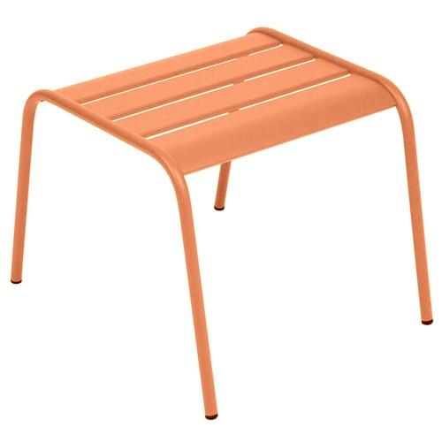 table basse repose pied monceau capucine de fermob. Black Bedroom Furniture Sets. Home Design Ideas
