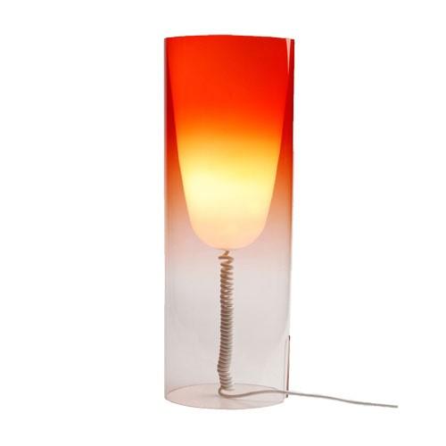 lampe a poser toobe rouge de kartell. Black Bedroom Furniture Sets. Home Design Ideas