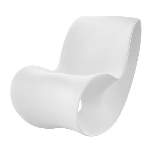 voido rocking chair blanc de magis. Black Bedroom Furniture Sets. Home Design Ideas