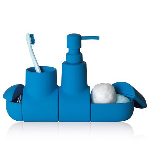Accessoire salle de bain submarino seletti bleu ebay - Accessoire salle de bain bleu ...